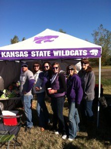 Part of our tailgating crew