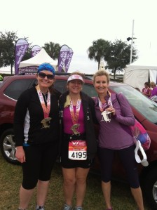 The race where I said I was giving up on running, but thanks to these friends, I didn't